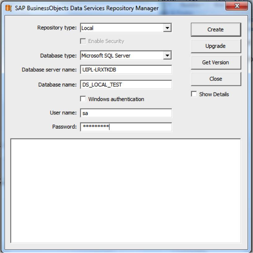Figure 2.2 - Repository Manager